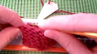 Вязание на Ивушке  Урок 7  Круговое полотно  Подгиб  Закрытие петель рабочей нит