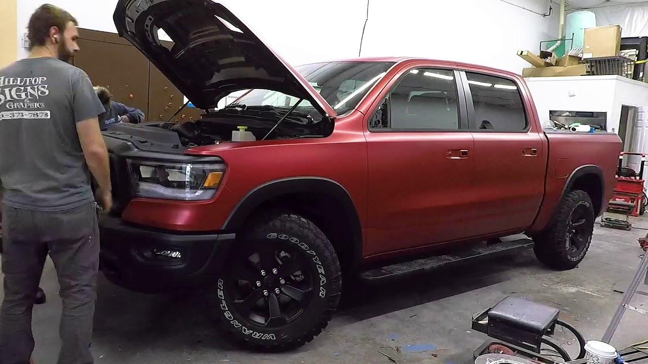 Dodge Ram 1500 Rebel Wrap