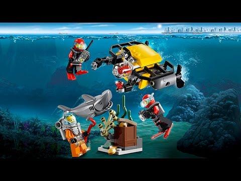 Lego City 60091 Deep Sea Starter Set Lego City Exploracion