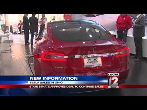 Deal allows Tesla to sell electric cars in Ohio
