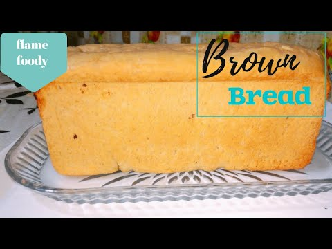 brown-bread|eggless-bread-recipe-without-oven|wholewheat-bread|-easy/soft-bread-by-flamefoody