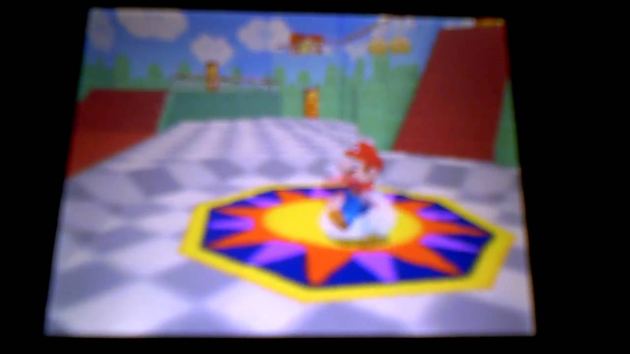 Mario 64 Nintendo DS. How to activate all the red ? boxes.