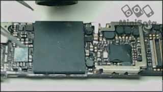 Ремонт iPhone 4 (переустановка NAND flash)(Ремонт iPhone 4 переустановка NAND flash