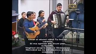 Grup tineri - Isuse, prieten drag, în orice vreme (Bis. Albini)