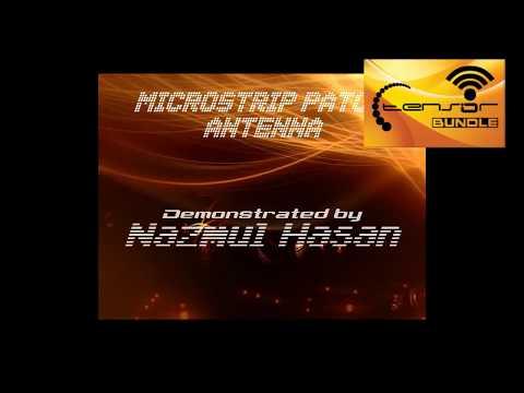 Microstrip Patch Antenna Demonstration