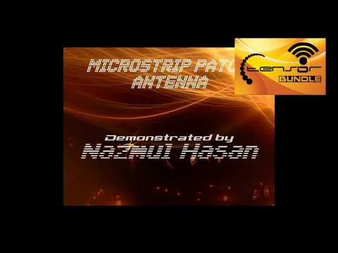 Microstrip Patch Antenna Demonstration