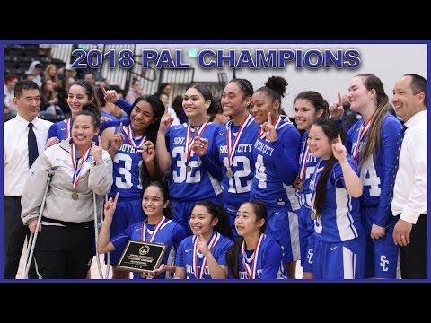 SSFHS vs Menlo-Atherton Girls Basketball 2-17-18 PAL Tournament Championship