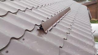 видео Снегозадержатели на крышу