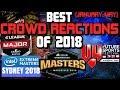 CS:GO - BEST CROWD REACTIONS OF 2018! (LOUD CROWDS!)