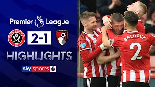 Lundstram's late strike steals win for Blades! | Sheff Utd 2-1 Bournemouth | EPL Highlights