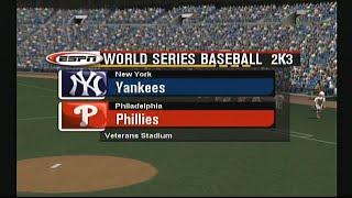 World Series Baseball 2K3 Gameplay