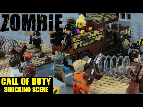 Lego Zombie Call Of Duty Episode 5 Stop Motion Animation