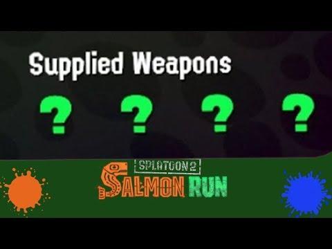 Every Weapon Is A Mystery! (Splatoon 2 Salmon Run Livestream)