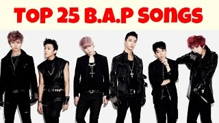 [TOP 25] B.A.P SONGS by MiniKpop (B.A.P 5th Anniversary)
