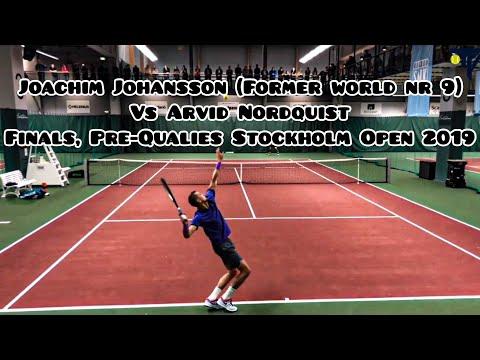 """Joachim """"Pim-Pim"""" Johansson VS Arvid Nordquist l Finals, Pre-Qualies Stockholm Open 2019 (HD)"""