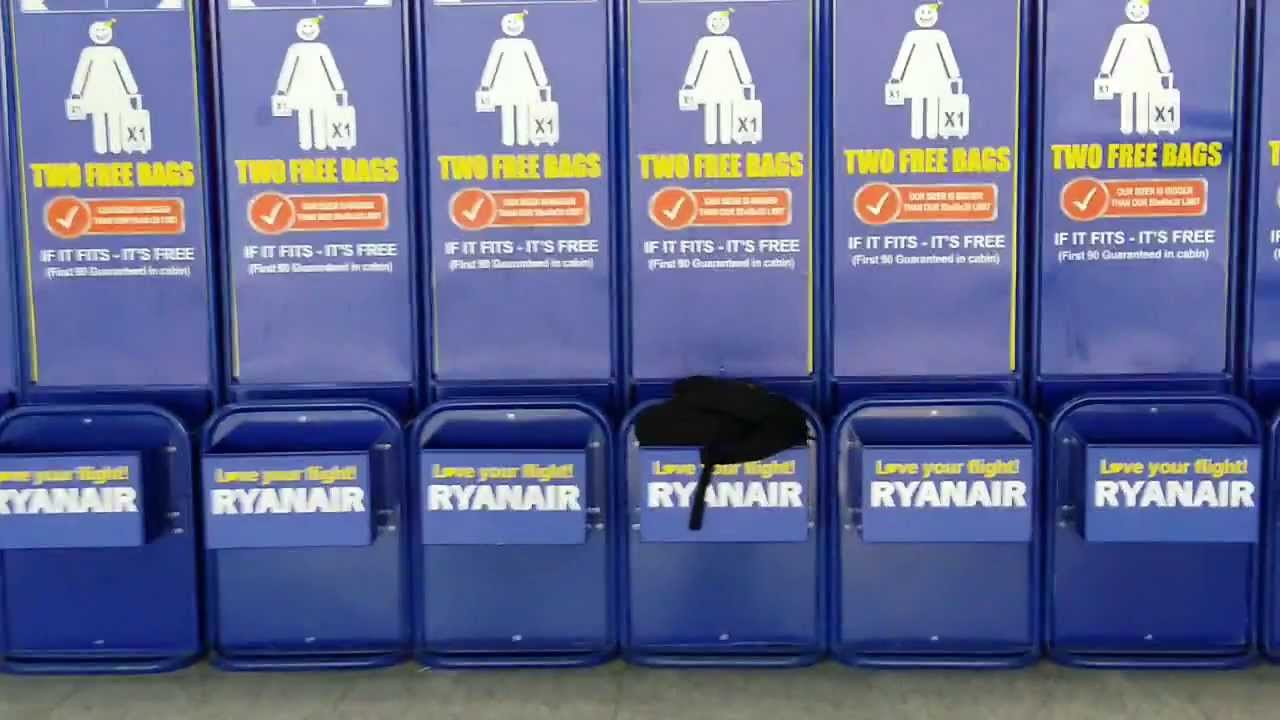Ryanair Two Free Bags For 90 Passengers