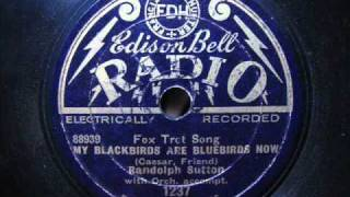 Randolph Sutton - My blackbirds are bluebirds now