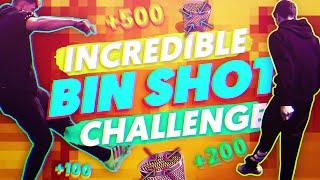 The incredible bin shot challenge!!
