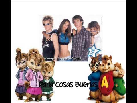 Erreway-Para Cosas Buenas (Versione Chipmunks e Chipette)