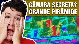 Câmara Secreta? Anomalias Térmicas são Encontradas na Grande Pirâmide  (#264 - Notícias Assombradas)