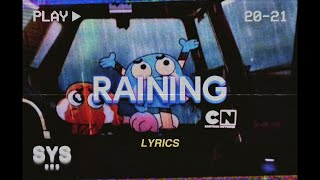 Zach Voros - why it raining again (Lyrics)
