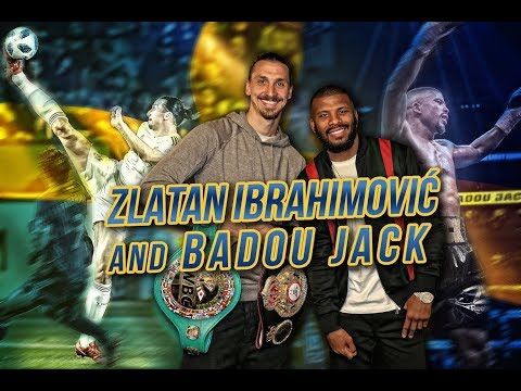 Zlatan Ibrahimovic & Badou Jack hang out