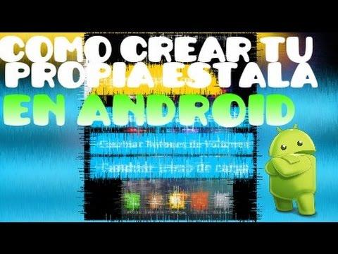 Como crear Tu propia estela De GD en Android