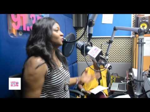 Omotola Jalade-Ekeinde On #TheDish [LagosTalks 91.3 FM]