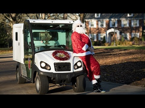 Mail Cart Holiday Karaoke