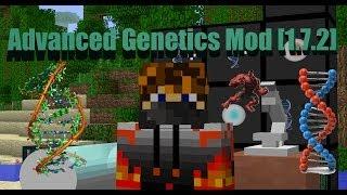 Advanced Genetics Mod [1.7.2] Обзор модов #17 (Сделай из себя СУПЕР-ГЕРОЯ)