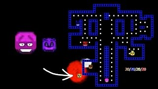 FNAF Pac Man - Purple Guy Edition | Angry Freddy!?