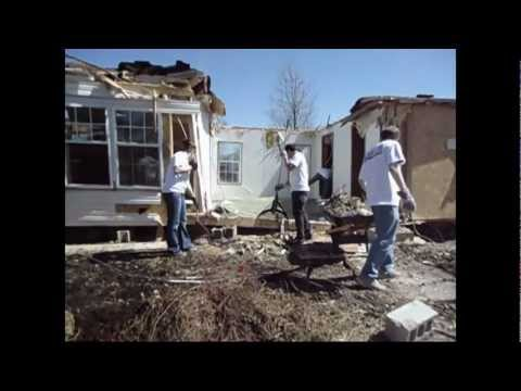 Harrisburg Tornado Cleanup (Greenville College)