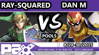 s p ray squared link vs hid   dan m captain falcon ssb4 pools smash wii u smash 4