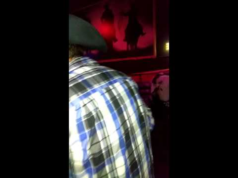 Andy Bull riding at Stampede's