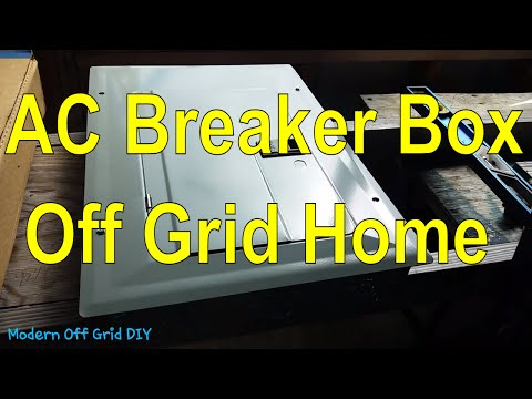 Off Grid Living - AC Electrical Breaker Box Location - New Off Grid Home