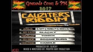 Lil Natty & Thunda Ft Dj Moss & Dj Taz - Call It George (Grenada Soca 2017) Cauziters Riddim