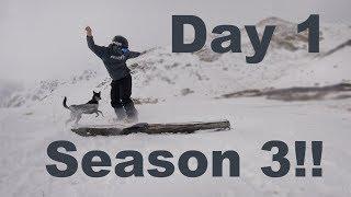 Snowboarding the First Snow of The 2018/19 Season - Arapahoe Basin Colorado - (Season 3, Day 1)