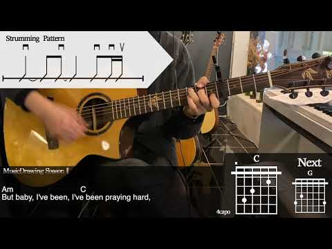 Counting Stars - OneRepublic Guitar Tutorial Cover [Musicdrawing]