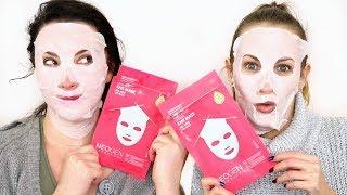 Neogen Dermalogy Pink Cactus LiftMax Knit Mask | BEAUTY NEWS REVIEWS