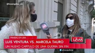 """""""ha Sido Un Muy Buen Compañero"""" ¿marcela Tauro Sacó La Bandera Blanca Con Luis Ventura?"""