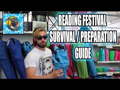 READING FESTIVAL 2016 SURVIVAL / PREPARATION GUIDE