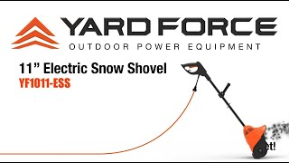 YF1011 ESS Electric Snow Shovel Promo Video