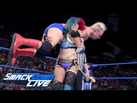 SmackDown vs. Asuka vs. James Ellsworth