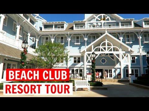 BEACH CLUB RESORT TOUR & EPCOT | WDW Vacation November 2017 Day 2, Part 1
