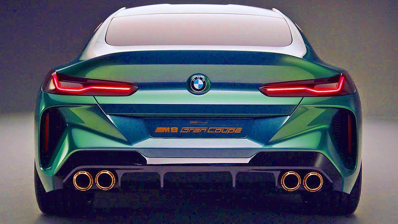 bmw m8 gran coupe 2019 perfect concept [ 1280 x 720 Pixel ]