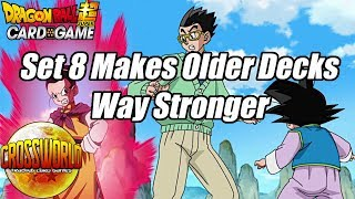 Set 8 Makes Older Decks Way Stronger - Dragon Ball Super Card Game