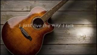 Morgan Wallen - The Way I Talk (Lyric Video)