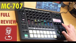 Review: Roland MC707 // Sound design // Live looping // Pros and cons (MC-707)