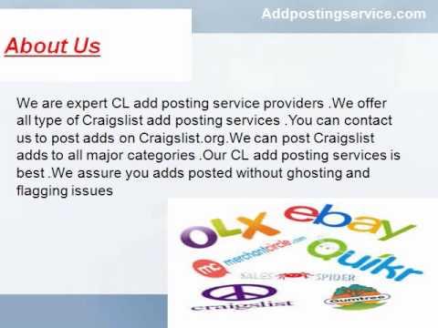 Addpostingservice.Com - Craigslist Ad Posting Service | CL Add Posting Service