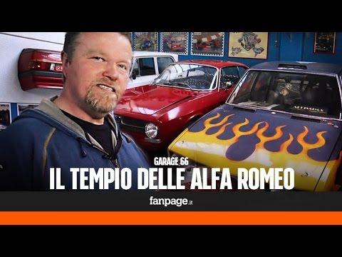 'Garage 66', il paradiso delle Alfa Romeo